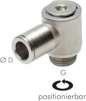 Verbinder MSV alle Größen Pneumatik IQS L-Steckverschraubung mit Innengewinde