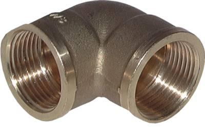 90° Winkelverschraubung mit zylindrischem Innengewinde Klemmringverschraubung
