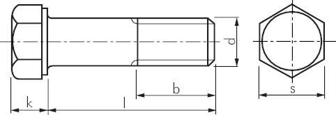 DIN 931 // ISO 4014 PROFI Sechskant Schraube mit Schaft G/üte 8.8 verzinkt Stahl geh/ärtet DIN931 PROFI 6kt TGW G8.8 VZ SGH M8 x 60 25 Stck
